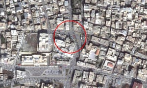 Central Raqqa location believed to be where Mohammed Emwazi was targeted by US drone strike