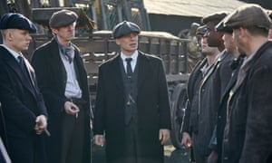 Peaky Blinders: hit on the BBC and Netflix.