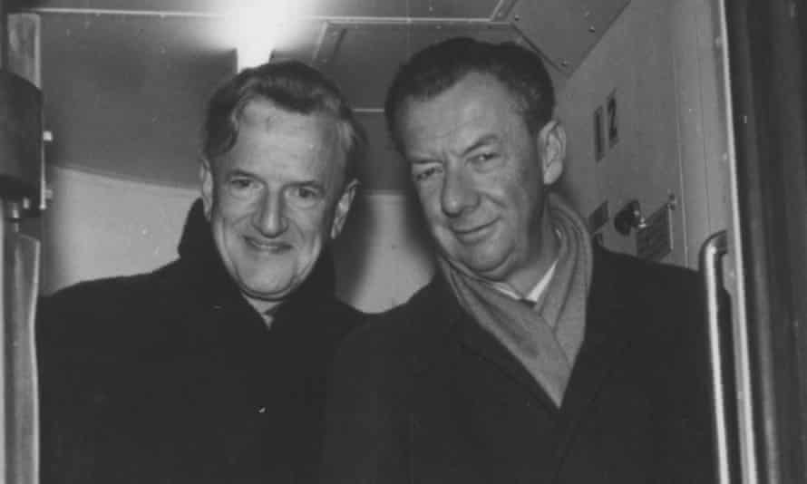 Benjamin Britten and Peter Pears in the 1960s.