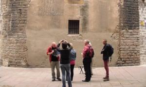 Spanish Civil War tour in Barcelona