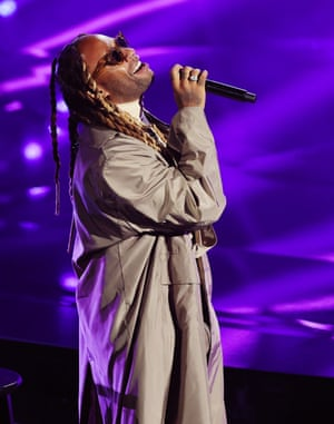 Ty Dolla Sign performed with Brandy