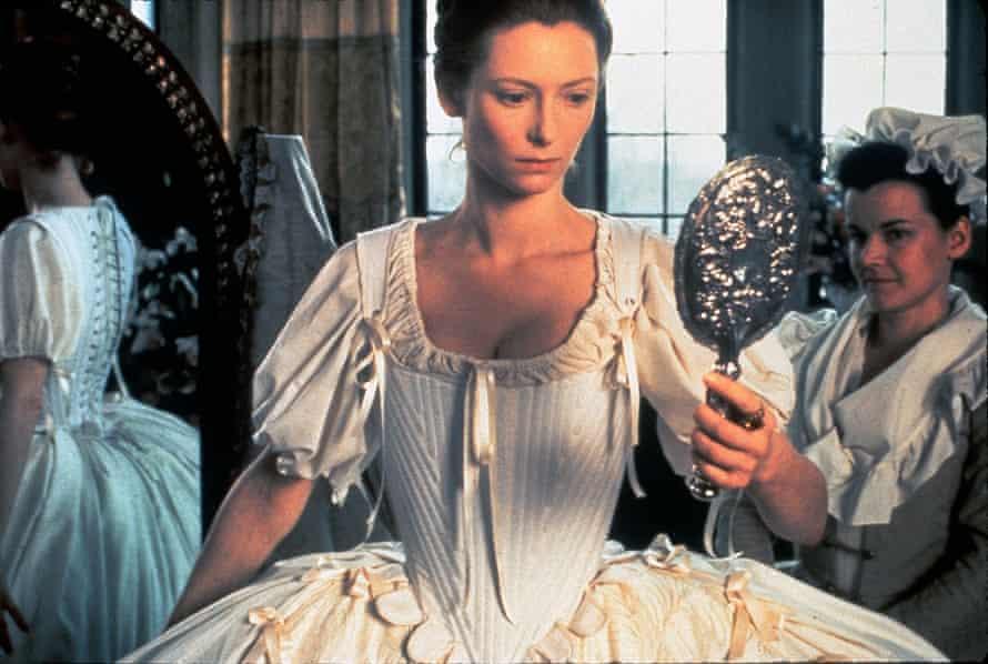 Tilda Swinton as Orlando in Sally Potter's 1992 screen adaptation of Virginia Woolf's novel.