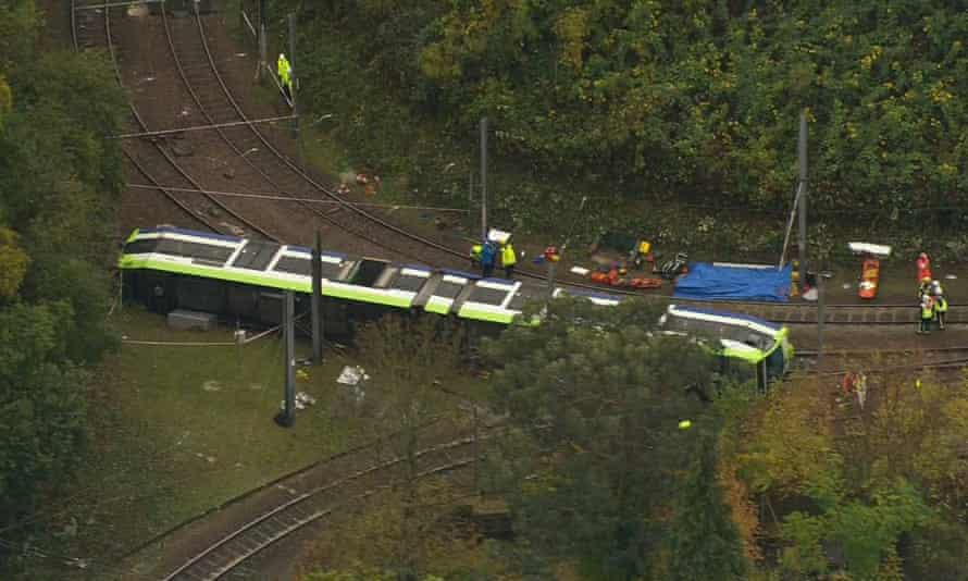 Seven people died and 51 were injured when the tram derailed last November.