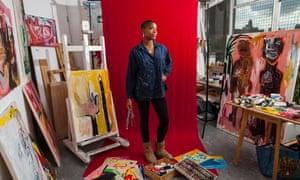 Rachel Jones in her east London studio