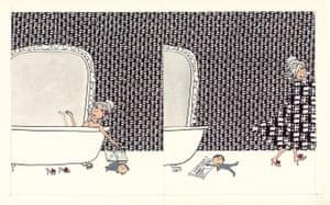 Mum in the bath