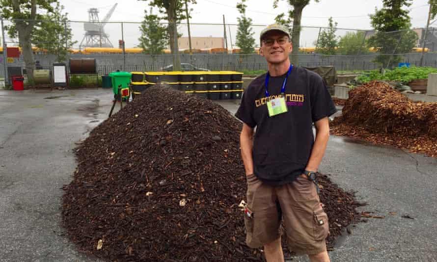 David Buckel at Red Hook Community Farms.