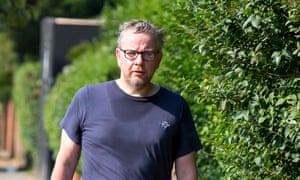 Michael Gove out for a jog with his new beard.