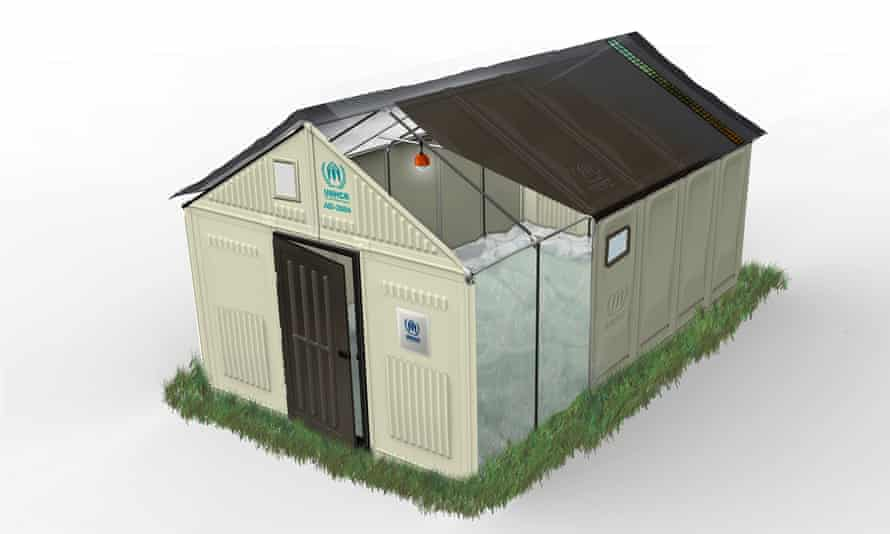 A safety test revealed the Ikea shelters do not live up to Swiss fire protection requirements.