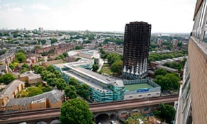 Tube tracks run close by Grenfell Tower.