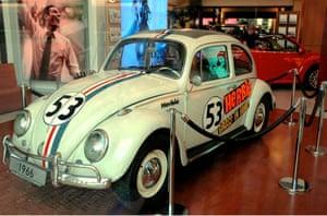 The VW Herbie in Berlin.