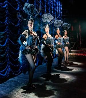 Dancers Kate Tydman, Yasmin Harrison, Lauren Alexandra and Pip Jordan.