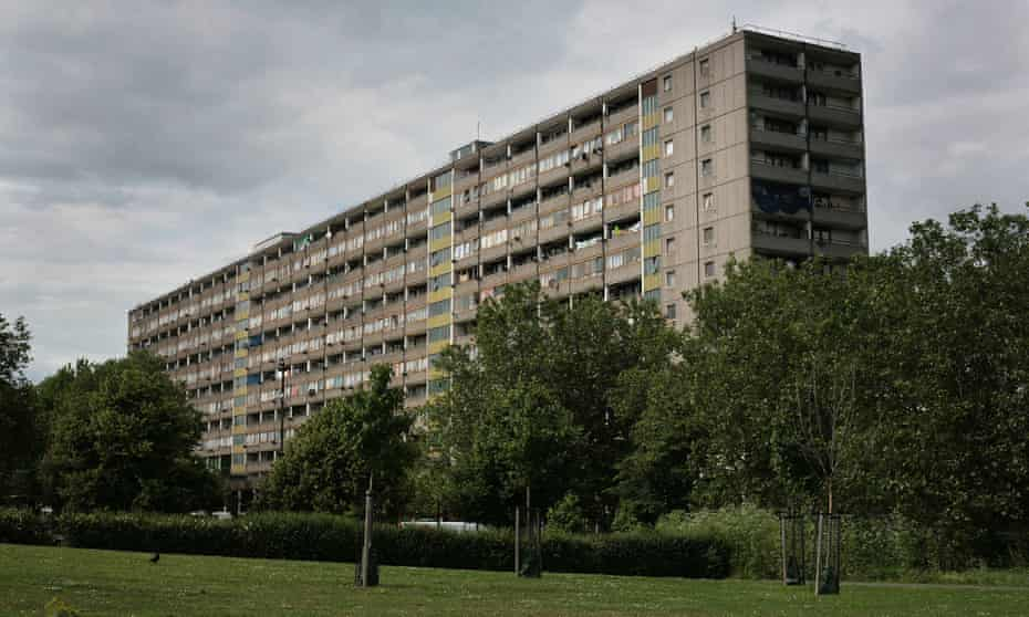 The Aylesbury estate in south London.