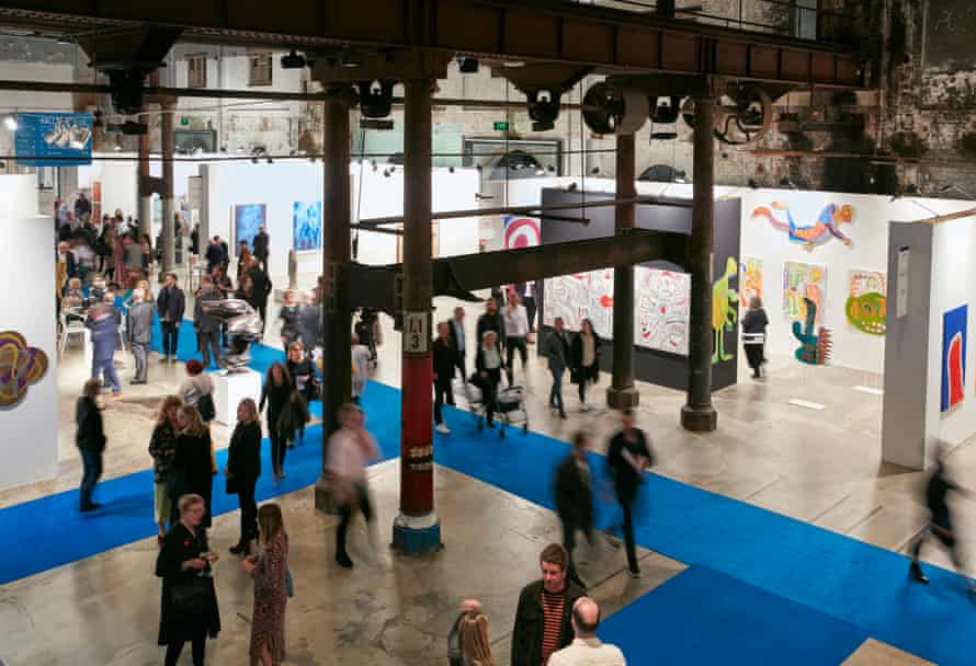 The Sydney Contemporary Art Fair is open at Carriageworks until Sunday