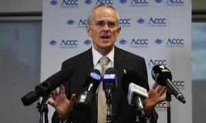'ACCC chairman Rod Sims