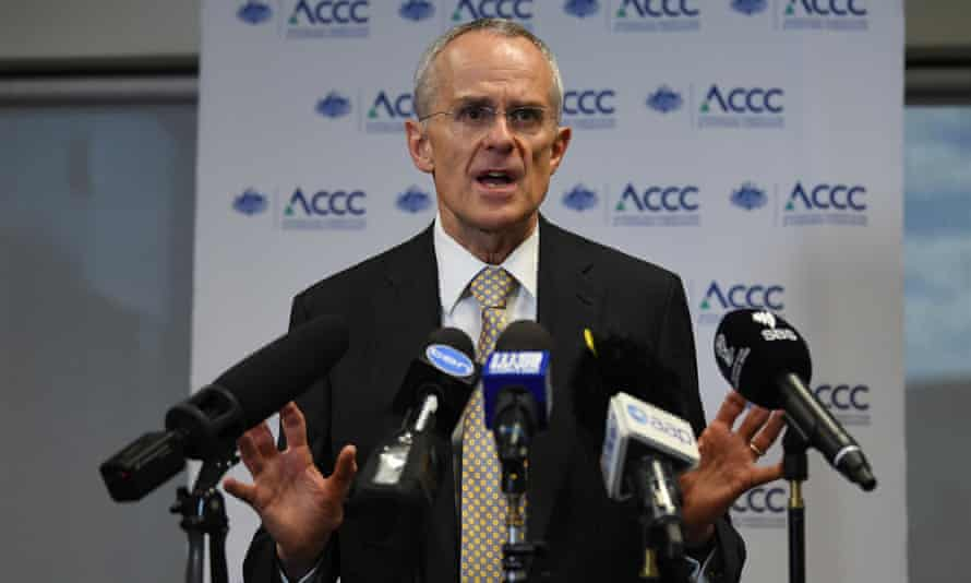 ACCC Chairman Rod Sims speaks