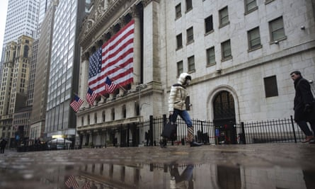 The New York stock exchange. Even before the pandemic, the racial wealth gap had expanded.