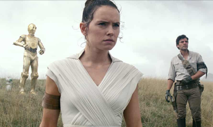 A still from Star Wars: The Rise of Skywalker