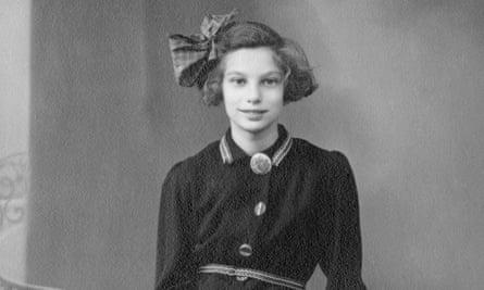 Traumatic journey … Lien in 1945.