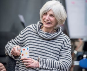 Caryl Churchill at a rehearsal for The Skriker in Manchester in 2015