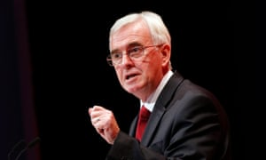 """Shadow chancellor John McDonnell, who was pressed into a definition of """"rich""""."""