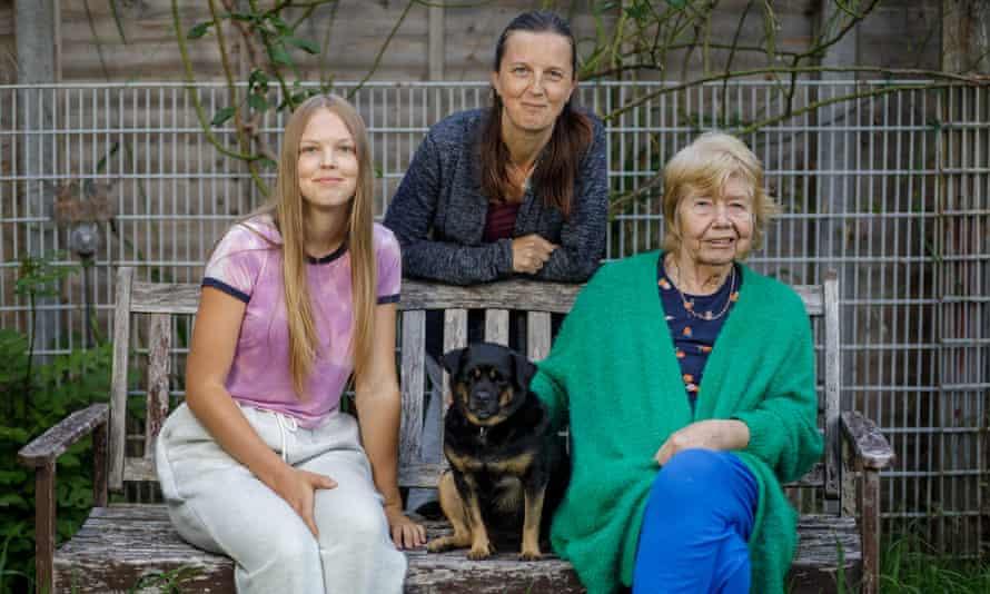 Emily, Emma and Sheila.