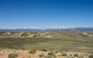 'The Great Basin, Wyoming USA. I cycled 4,800km from Banff in Canada to Antelope Wells, New Mexico. A remote and wonderful ride that took 19 days, taking me through the heart of some of the most beautiful and sparse parts of the USA.'