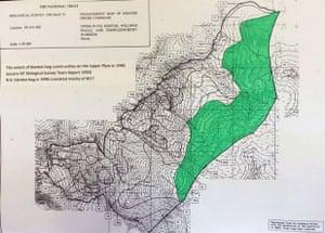 Swaling in Dartmoor and Exmoor: blanket bog in 1990
