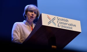 'Theresa May and the Scottish Conservatives are currently waging a phoney war over Scottish independence because their own party's record is woeful.'