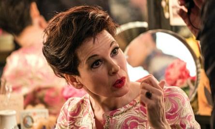Zellweger as Judy Garland.