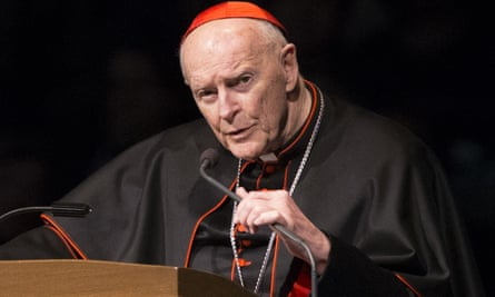 Theodore McCarrick has been removed from public ministry since 20 June.