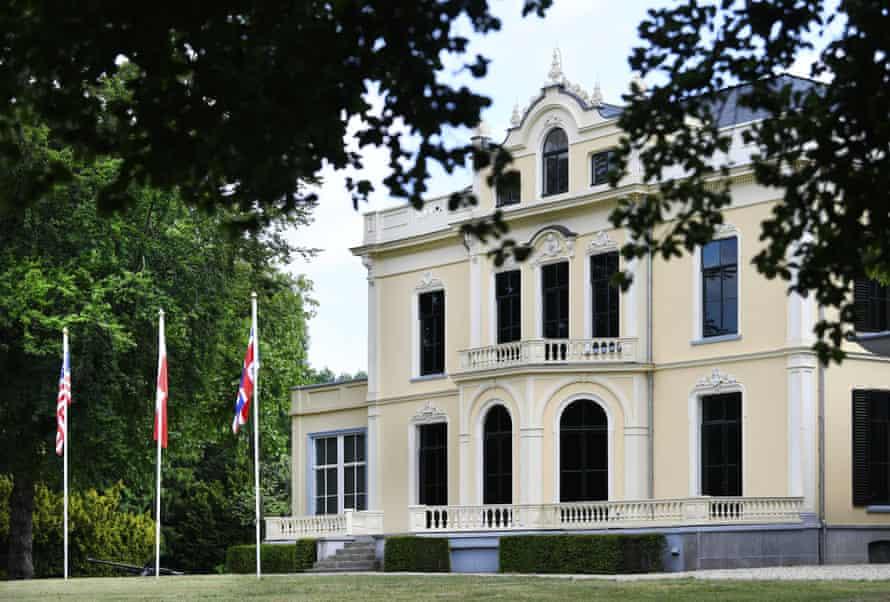 موزه هوابرد نوسازی شده ، اوستربیک ، در ماه مه سال 2020.