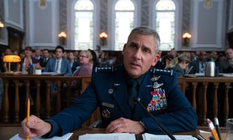 Space Force review – Steve Carell parody fails to reach orbit