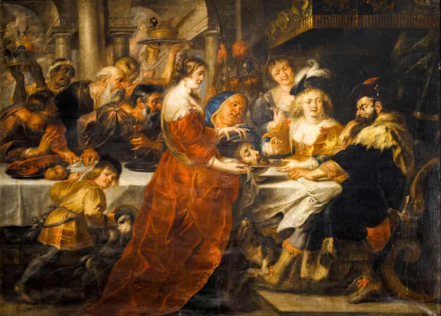 The Feast of Herod by Peter Paul Rubens