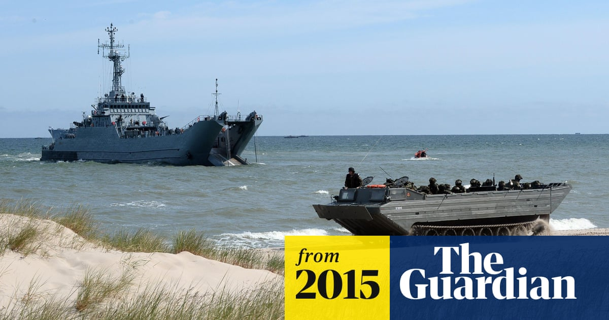 Nato shows its teeth to Russia with elaborate Baltic training