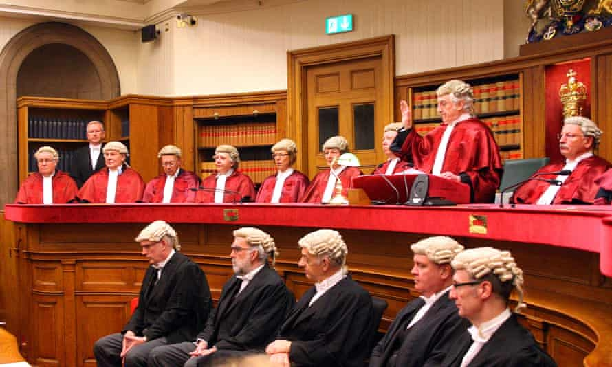 Senior judges at the Court of Session in Edinburgh. There has been a sharp increase in the number of women qualifying as lawyers.