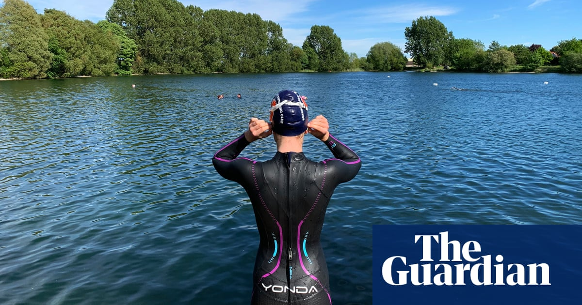 Midsummer 5k swim challenge coaxing UK 'off the couch'
