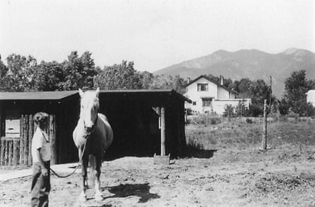 Funk as a child in Taos, New Mexico