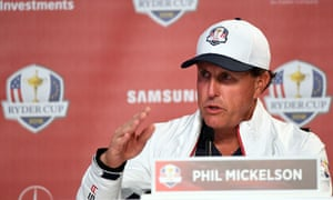 Phil Mickelson is preparing for his 11th Ryder Cup appearance at Hazeltine but has only been on the winning side twice