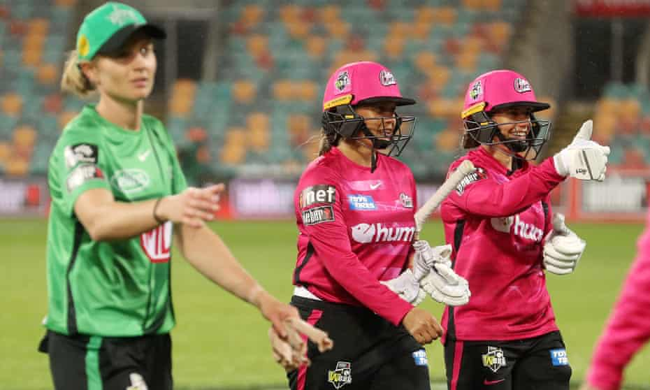 The Sydney Sixers won the WBBL opener in Hobart on Thursday night, but doubts have been cast over upcoming games there.
