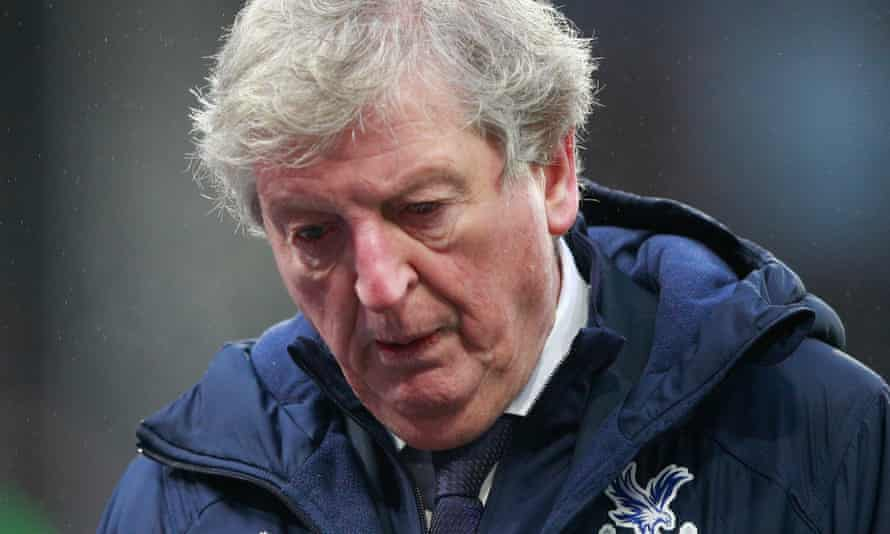 Roy Hodgson during Crystal Palace's game against Wolves in January