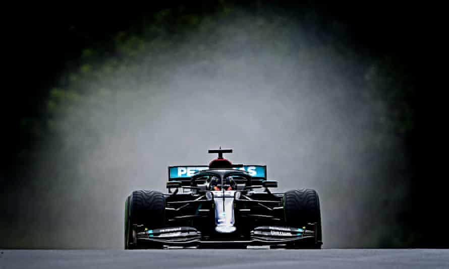 Lewis Hamilton and Mercedes are alone in being the only Formula One team to have publicly backed the fight against racism.