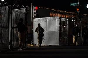 National Guardsmen on patrol