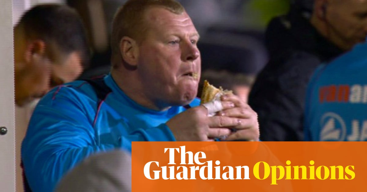 Give The Poor Sutton Goalie A Break This Was Pie Eating Not Match