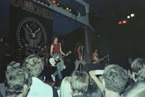 The Ramones, on their first Australian tour, 18 July 1980 at Festival Hall