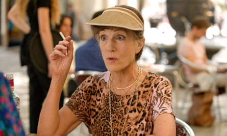 Harriet Walter as Dasha in the third series of Killing Eve