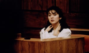 Lorena Bobbitt on trial, January 1994.