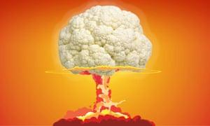 Mushroom cloud cauliflower