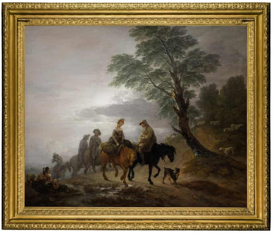 Thomas Gainsborough's Going to Market, Early Morning, which is a t risk of leaving the UK