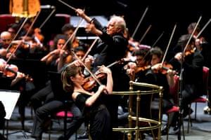 Daniel Barenboim and the West-Eastern Divan Orchestra return to the BBC Proms with Lisa Batiashvili performing Tchaikovsky's Violin Concerto.