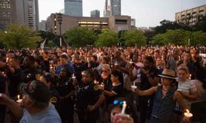 Dallas vigil